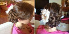 Hair: www.krystieann.com  Wedding hair, bridal hair, updo, elegant hair, beach updo, bridesmaid hair, blonde, destination wedding, Iberostar bavaro beach, punta cana wedding