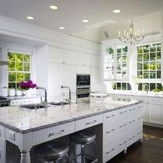 White Accents - White Kitchens - 10 Bright Beauties to Behold - Bob Vila