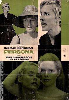Persona 1966 Ingmar Bergman Liv Ullmann Bibi Andersson