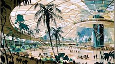 """The original plan for LAX airport (1952) - part of """"Never built LA"""" by Sam Lubell and Greg Golden"""