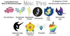 PONY PINS ARE BACK! WAVE 4 | Derpy Hooves News