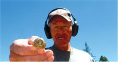 What was supposed to be an ordinary day metal-detecting on the Colorado slopes…