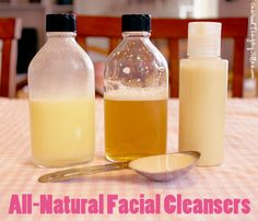Make Your Own Homemade Facial Cleansers . . . {4} All-Natural Recipes!