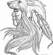 native american boy in canoe coloring page - Bing Images