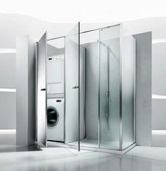 Charming Colonna Porta Lavatrice E Asciugatrice . Facilissimo Nascondere La U2026 |  Dreamhome By Ellen Zoellner | Pinterest | Laundry, Laundry Rooms And Bath