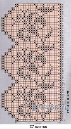 Crochet Bedspread, Crochet Curtains, Cross Stitch Patterns, Knitting Patterns, Crochet Patterns, Crochet Diagram, Filet Crochet, Hand Embroidery Designs, Thread Crochet