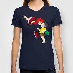 Ponyo and Sosuke T-shirt by foreverwars - $18.00