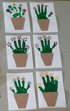 Spring crafts preschool creative art ideas 34