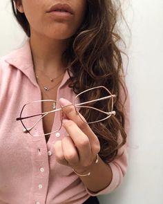 56f9406fb5a CAROLINE ABRAM sur Instagram   Outfit of the day ! Pink gold Volcane 🕊       carolineabram  eyewear  glasses  lunettes  spectacles