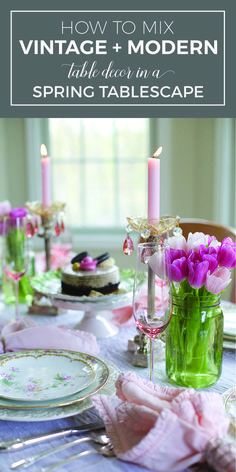 155 best Table Settings || Spring images on Pinterest | Tray tables ...