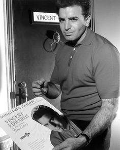 Vince Edwards, 1962 - Ben Casey!