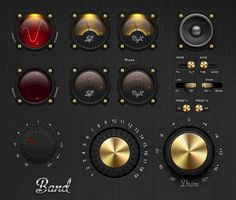 Have a requirement for dials, switches, knobs, sliders, toggles and more? We've collected a small sample of the best PSD knob GUIs we could find on the web. (more...)