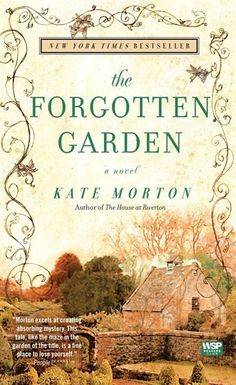 The Forgotten Garden: A Novel  by Kate Morton. Historical Fiction. It was a good read, but a little hard to follow & keep things straight as it jumped between 3 women's stories in 3 different time periods.