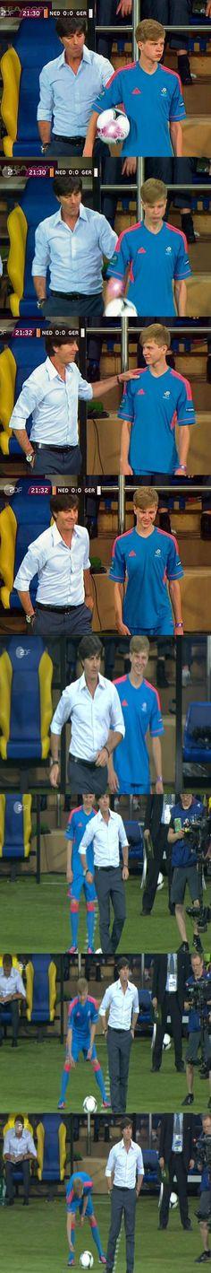 Netherlands vs Germany / Niederlande - Deutschland // Joachim Loew / Joachim Löw // Euro 2012