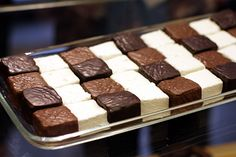 Chocolate covered marshmallows. Wish we lived in Paris!