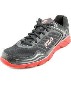 FILA Fila Memory Fresh 2 Men Round Toe Leather Black Running Shoe' fila