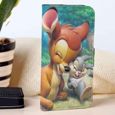 Bambi Thumper | Disney | Movie | custom wallet case for iphone 4/4s 5 5s 5c 6 6plus case and samsung galaxy s3 s4 s5 s6 case - RSBLVD
