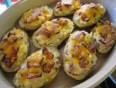Rezept: Doppelt gebackene Kartoffeln