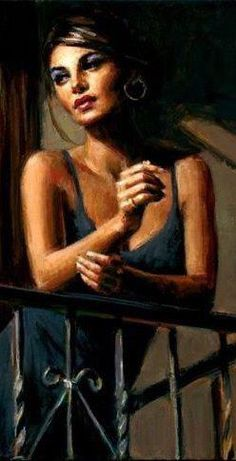 One of my favorites by Fabian Perez