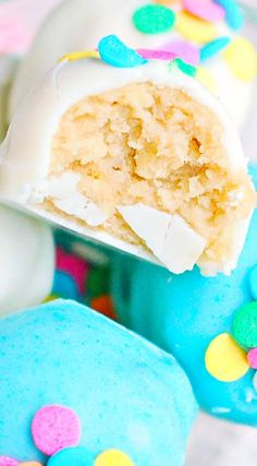 Cotton Candy Truffles
