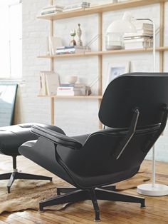So Cool! #Black #Eames #lounge #Chair. #furniture in #style