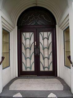 art deco doors, via Flickr.