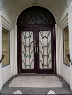 art deco doors, via Flickr.