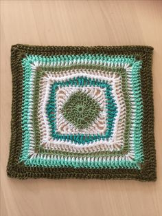 You will find this pattern l, the Sylvia square, on Ravelry http://www.ravelry.com/patterns/library/sylvie-square