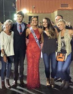 Mama LeClaire, Til, Kris, Jordan and Caroline.