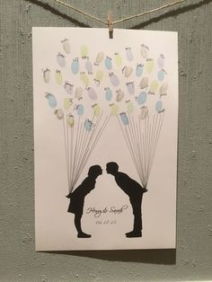 Festa di fidanzamento/matrimonio o doccia di fewkindwords su Etsy