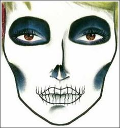 TONS of MAC Halloween FACE CHARTS - Beautynewbie   Face charts ...