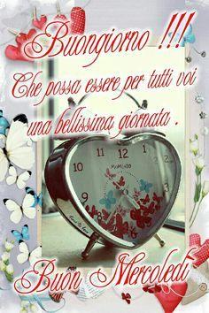 Belle frasi Buongiorno Mercoledì per Whatsapp e Facebook - BelleImmagini.it