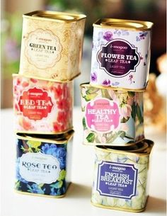 I want these tea containers (: