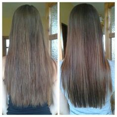 Haircut before & after
