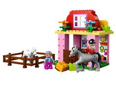 Horse Stable -- Pitch in at the Horse Stable!