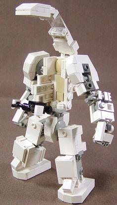 Robot Lego, Lego Bots, Lego Spaceship, Lego Mechs, Lego Bionicle, Legos, Lego Machines, Micro Lego, Lego Army