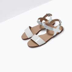 ZARA - SHOES & BAGS - METALLIC SANDAL