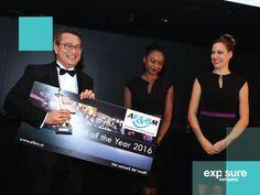 Verkiezing van de 'F&B Professional of the Year', een jaarlijks terugkerend evenement van de AF&BM waarvoor wij de cheques maken.
