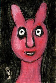 Ein Acryl von Peter Ammon Outsider Art, The Outsiders, Disney Characters, Fictional Characters, Disney Princess, Random Stuff, Kunst, Fantasy Characters, Disney Princesses