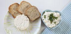 Ricota e queijo cottage