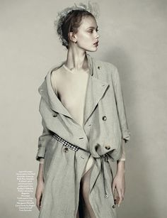 Frida Gustavsson by Josh Olins for AnOther Spring 2010 #fashion #editorial #studio