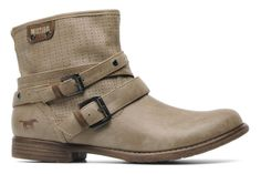 Lanian by Mustang shoes (Blue)   Sarenza UK   Your Ankle boots Lanian Mustang shoes delivered for Free