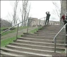 Fall from bike – 15 Fail GIFs