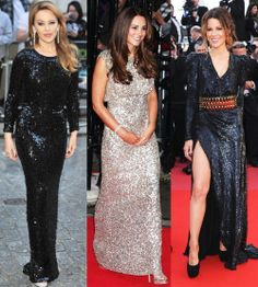 Sequins are not just for celebrities on the red carpet. Everyone deserves a bit of glam! Whether you opt for a sequin top teamed with trousers or a stunning full length evening dress like these celebs you know you are guaranteed to feel amazing. #womensfashion justblue.com