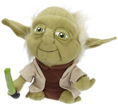 2ba27848130 Comic Images Super Deformed Yoda Plush Toy  Snuggle up with a classic Star  Wars character to make bed time or play time out of this world.