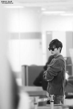 Lee Min Ho - Airport Fashion