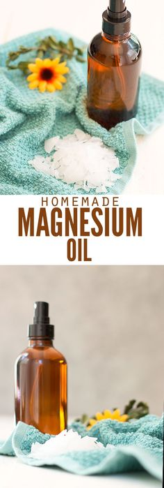 Magnesium oil is my secret for hair, for sleep and less stress. The benefits are plenty without side effects. Use this recipe to make it and not buy it! :: DontWastetheCrumbs.com