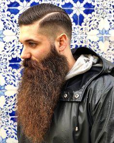 Oh my goodness! Shaved Head With Beard, Beard Head, Beard Game, Trimmed Beard Styles, Beard Styles For Men, Hair And Beard Styles, Walrus Mustache, Beard No Mustache, Badass Beard