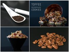 Toffee Pecannuss Cookies Rezept
