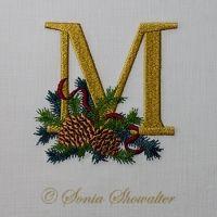 Winter Pines- M